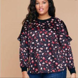 Lane Bryant long sleeve  blouse size 18/20